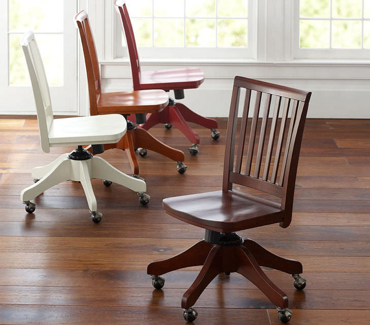 Contemporary Office Chair / On Casters / Childu0027s / Wooden   CAROLINA