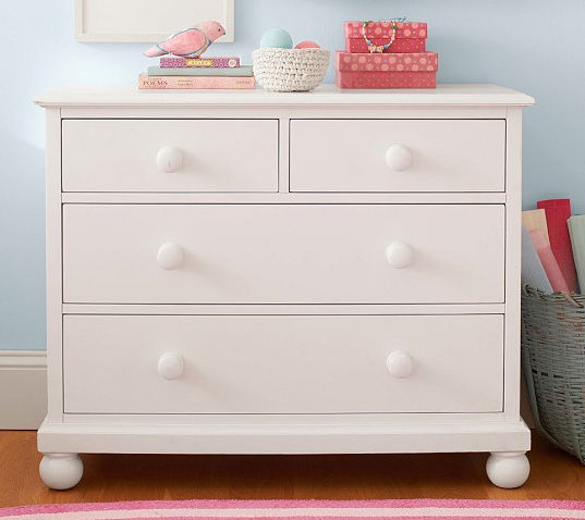 Contemporary Chest Of Drawers Childs Uni White Catalina