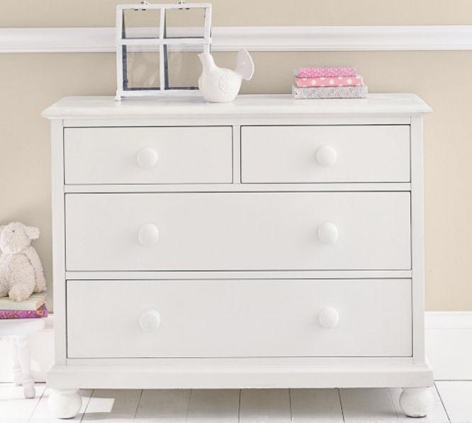 2ca7dafac1b2 contemporary chest of drawers / child's unisex / white. CATALINA Pottery  Barn Kids