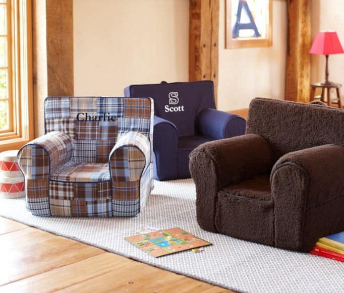 Contemporary Armchair / Cotton / Childu0027s ...