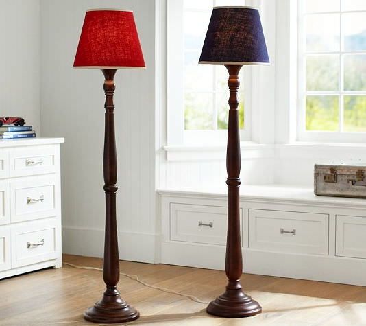 Floor-standing lamp / traditional - JACOB BURLAP - Pottery Barn Kids:Floor-standing lamp / traditional - JACOB BURLAP,Lighting