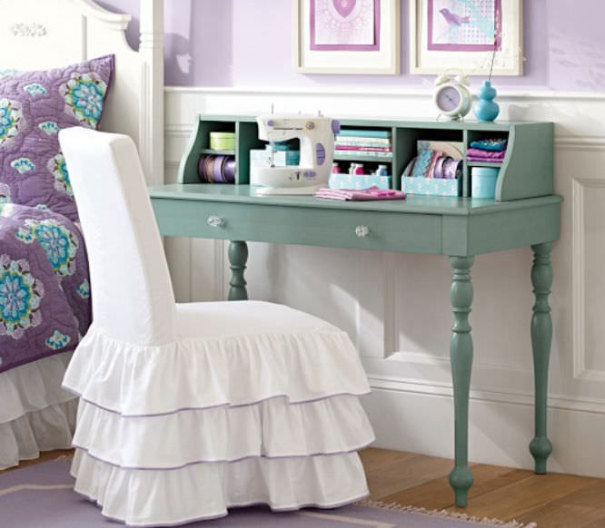 Wooden desk / contemporary / child's WHITNEY Pottery Barn Kids ...