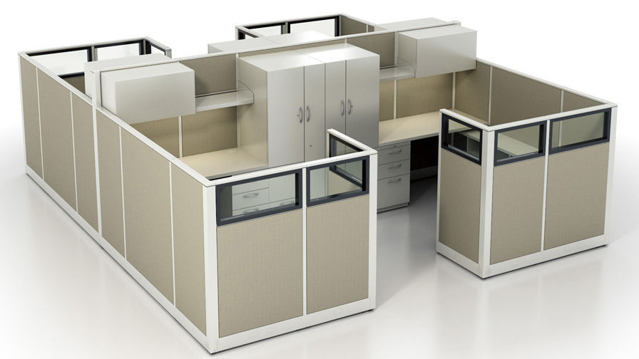 Amazing Floor Mounted Office Divider / Fabric / Metal / Modular ...