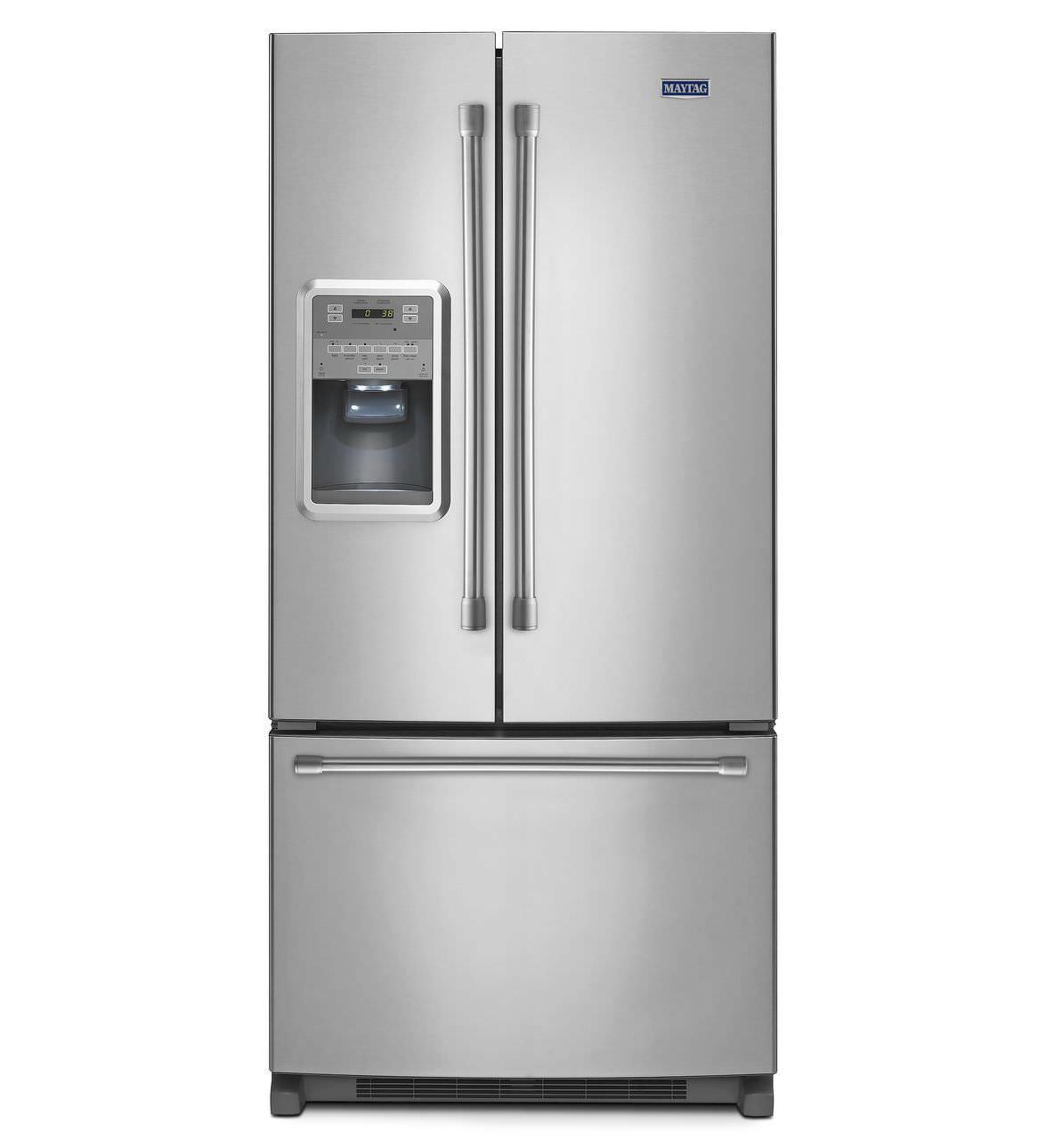 Home Refrigerator Freezer / American / Stainless Steel / With Water  Dispenser ...