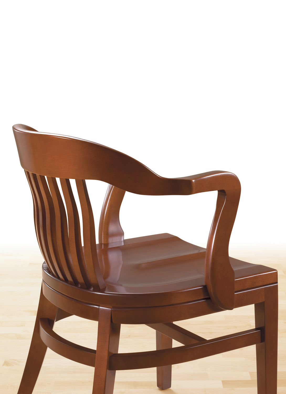 ... classic visitor chair / upholstered / with armrests / leather ...  sc 1 st  ArchiExpo & Classic visitor chair / upholstered / with armrests / leather - BANK ...