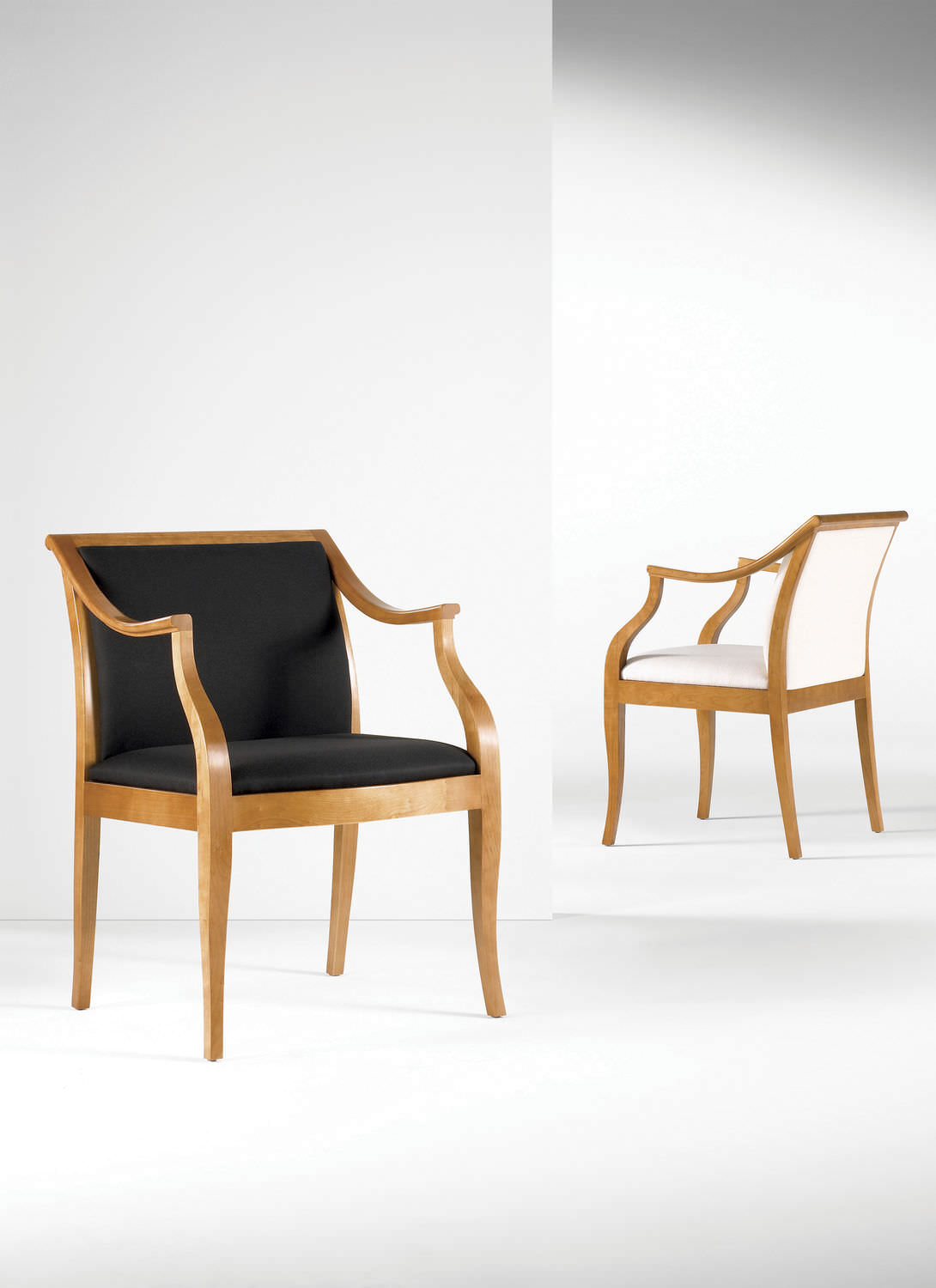 ... Classic Visitor Chair / Upholstered / With Armrests / Fabric ...