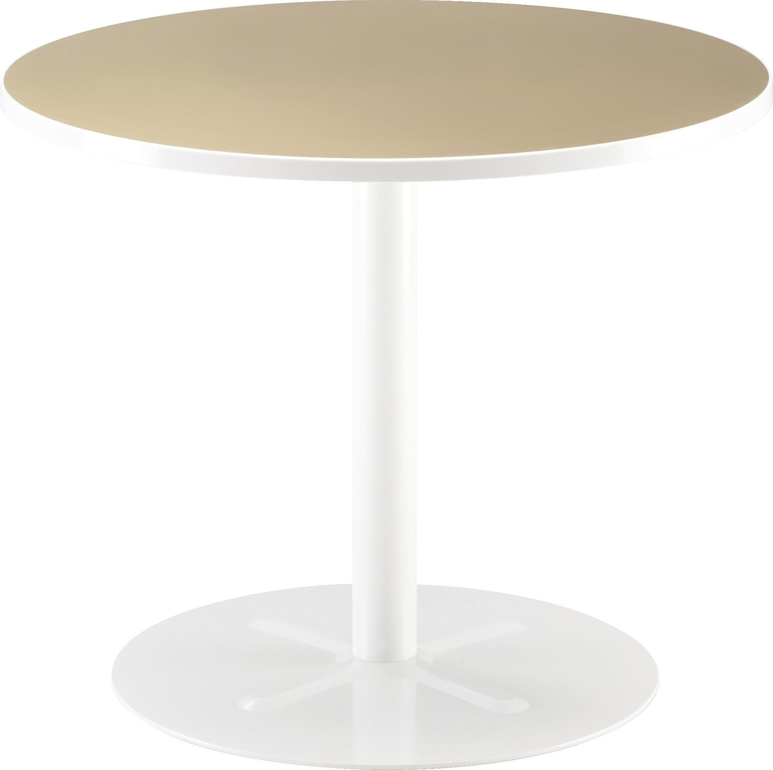 Contemporary Pedestal Table / Wooden / Round / Square   OSIO By Tapio  Anttila