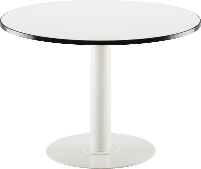 Charming ... Contemporary Pedestal Table / MDF / Round / Commercial DIO ISKU ...