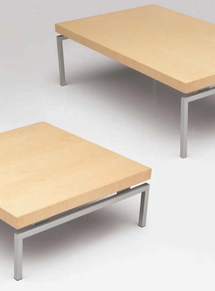 Contemporary Coffee Table / Wooden / Metal / Rectangular SUTTON Krug ...