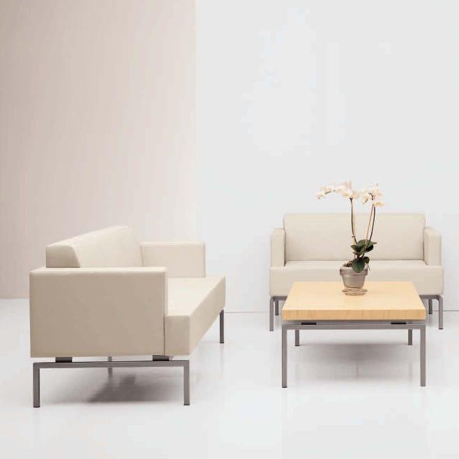 Contemporary Sofa / Fabric / Commercial / 3 Seater   SUTTON