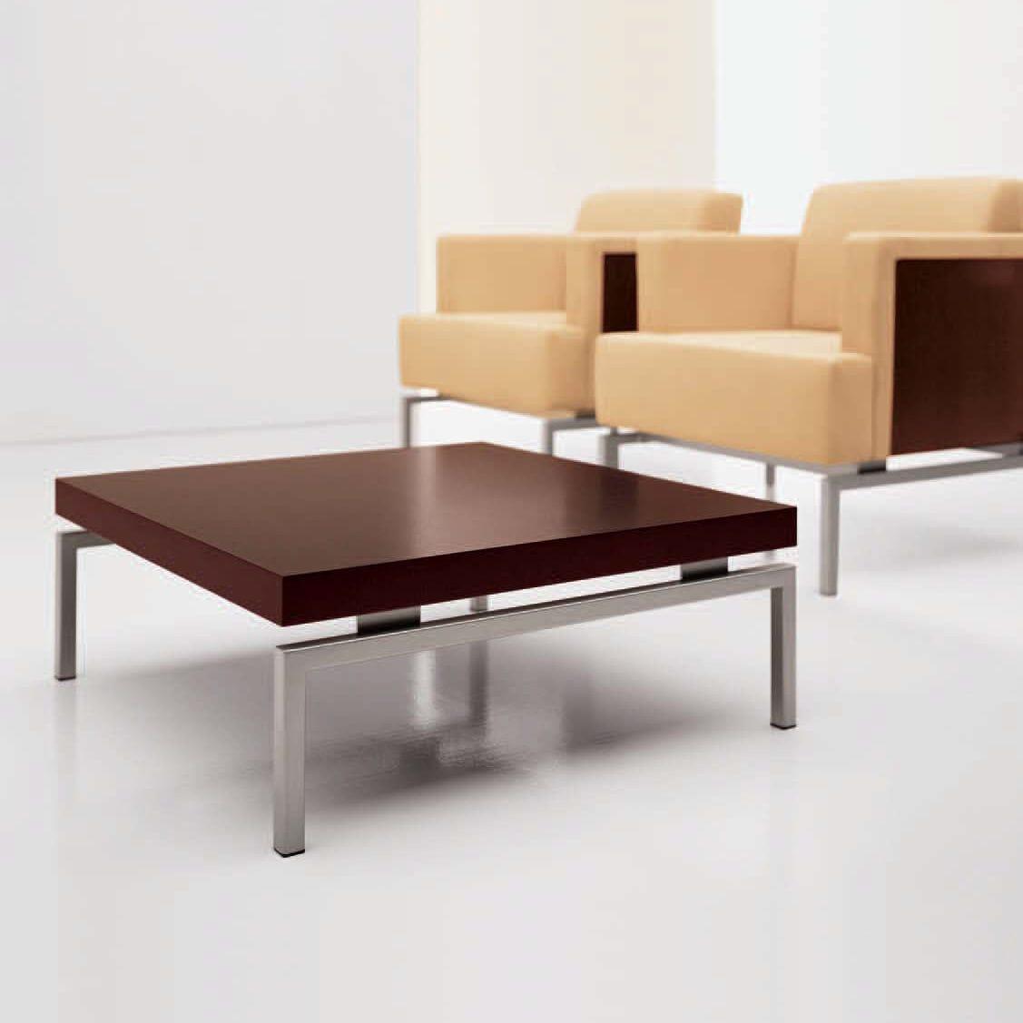 Contemporary Coffee Table / Wooden / Metal / Rectangular   SUTTON