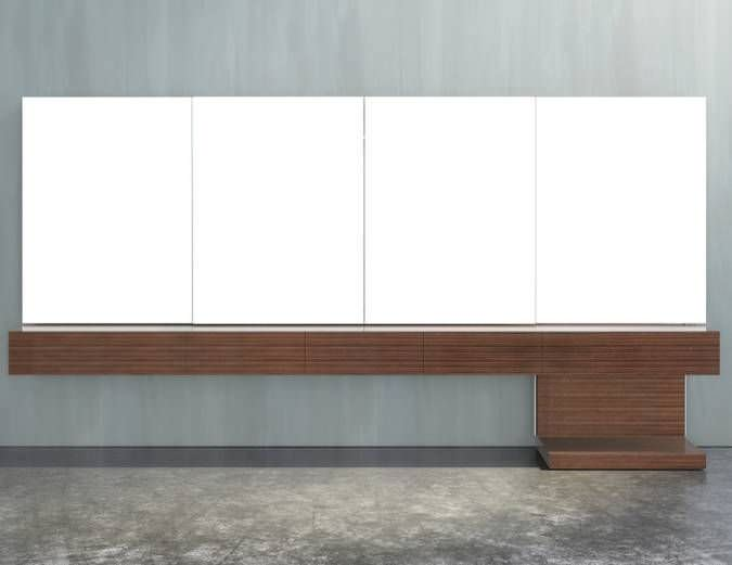 Multimedia Sideboard contemporary multimedia cabinet modular for conference rooms