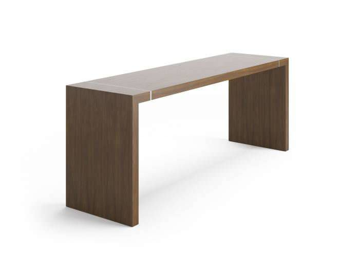 ... Contemporary High Bar Table / Wooden / Rectangular / Commercial
