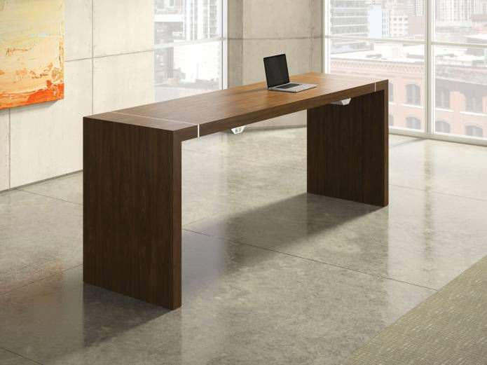 ... Contemporary High Bar Table / Wooden / Rectangular / Commercial TESANO  By Joey Ruiter Nucraft
