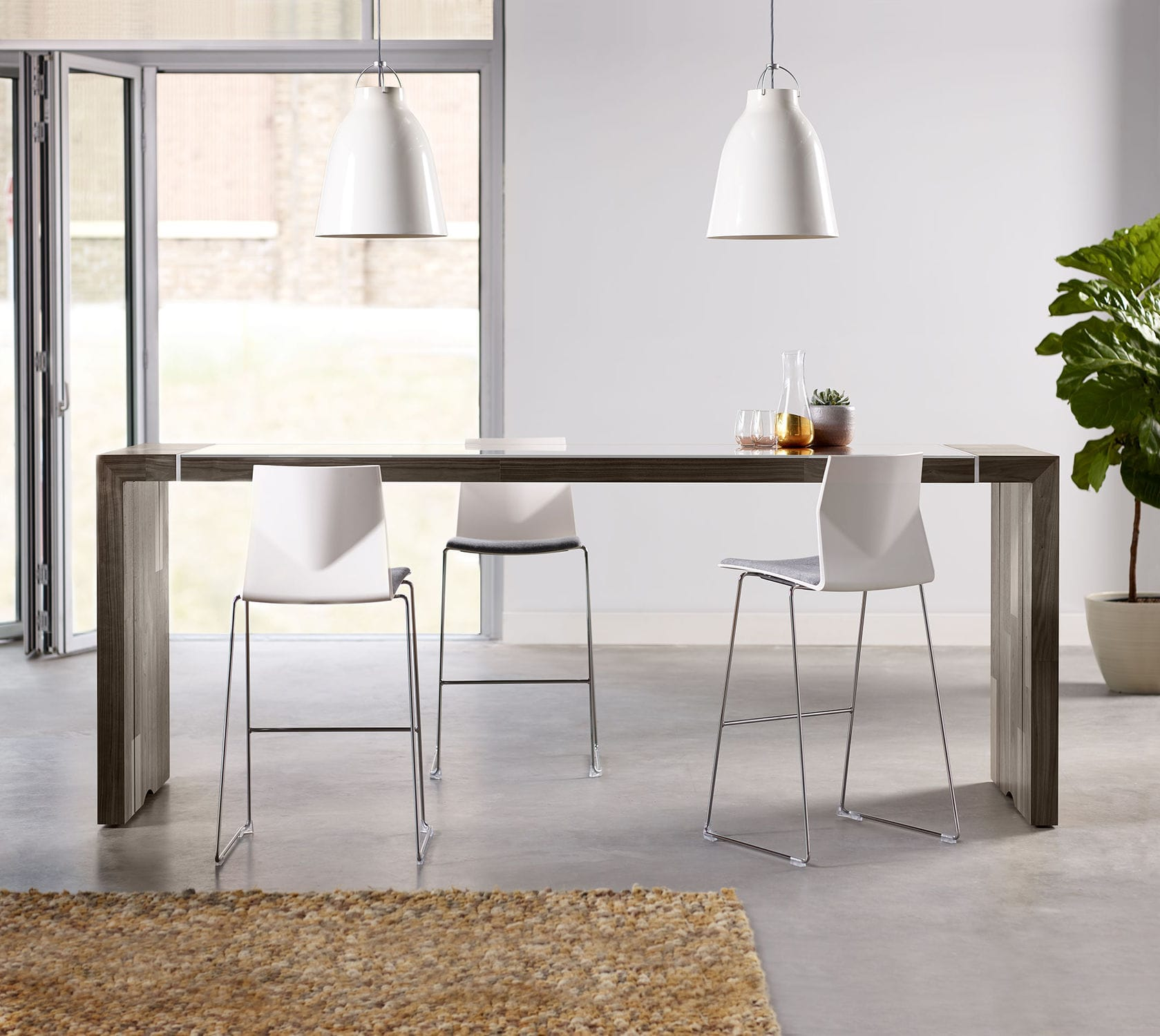 contemporary high bar table  wooden  rectangular  commercial  - contemporary high bar table  wooden  rectangular  commercial  tesano byjoey ruiter