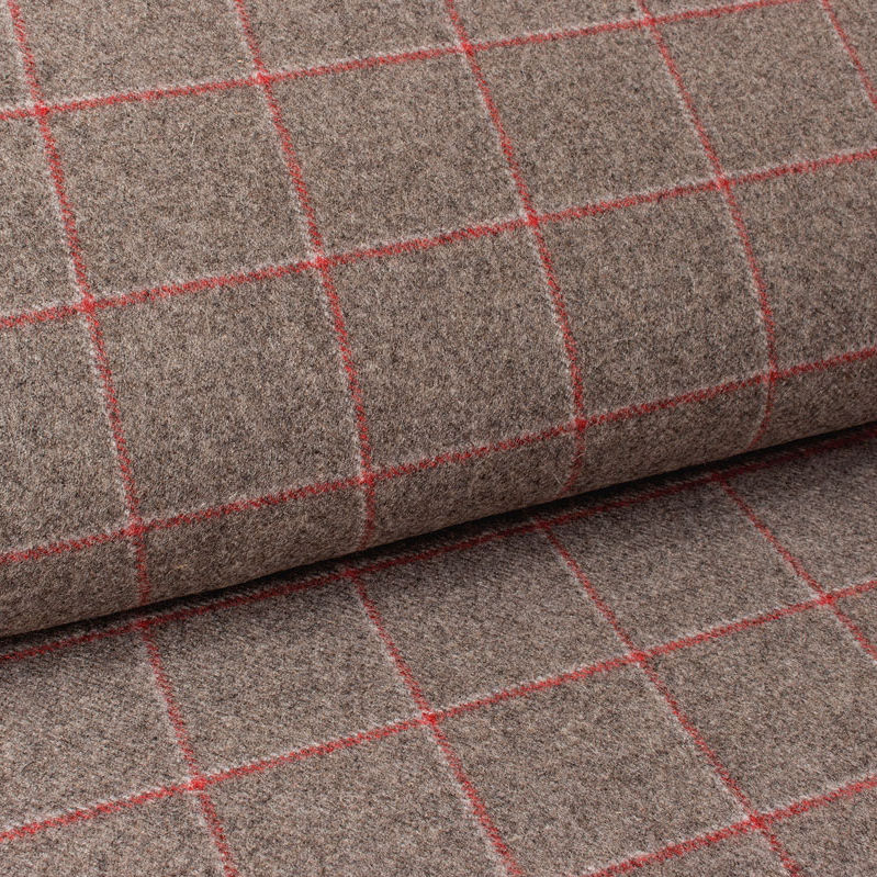 Upholstery Fabric For Curtains Plaid Wool Glasgow Delius Gmbh