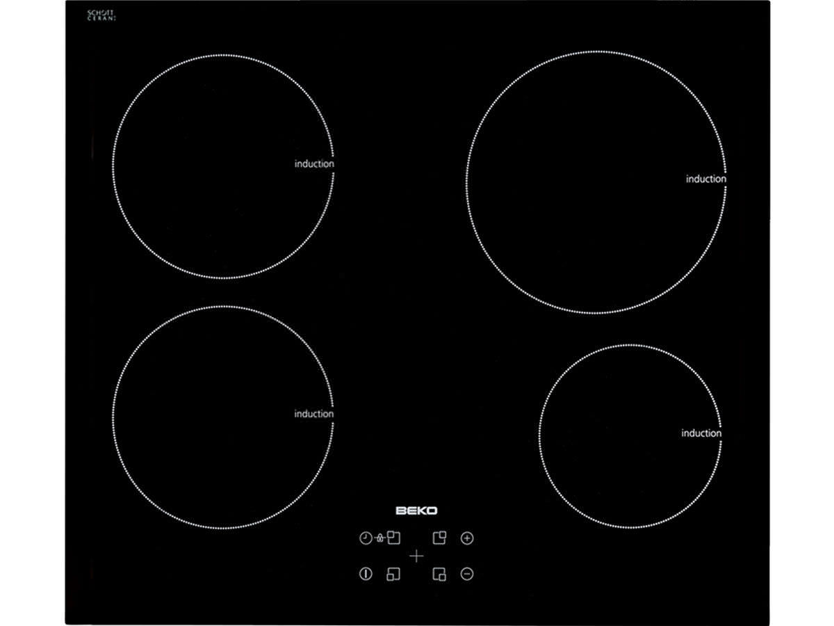 Electric cooktop / induction - HII64400AT - Beko - Videos