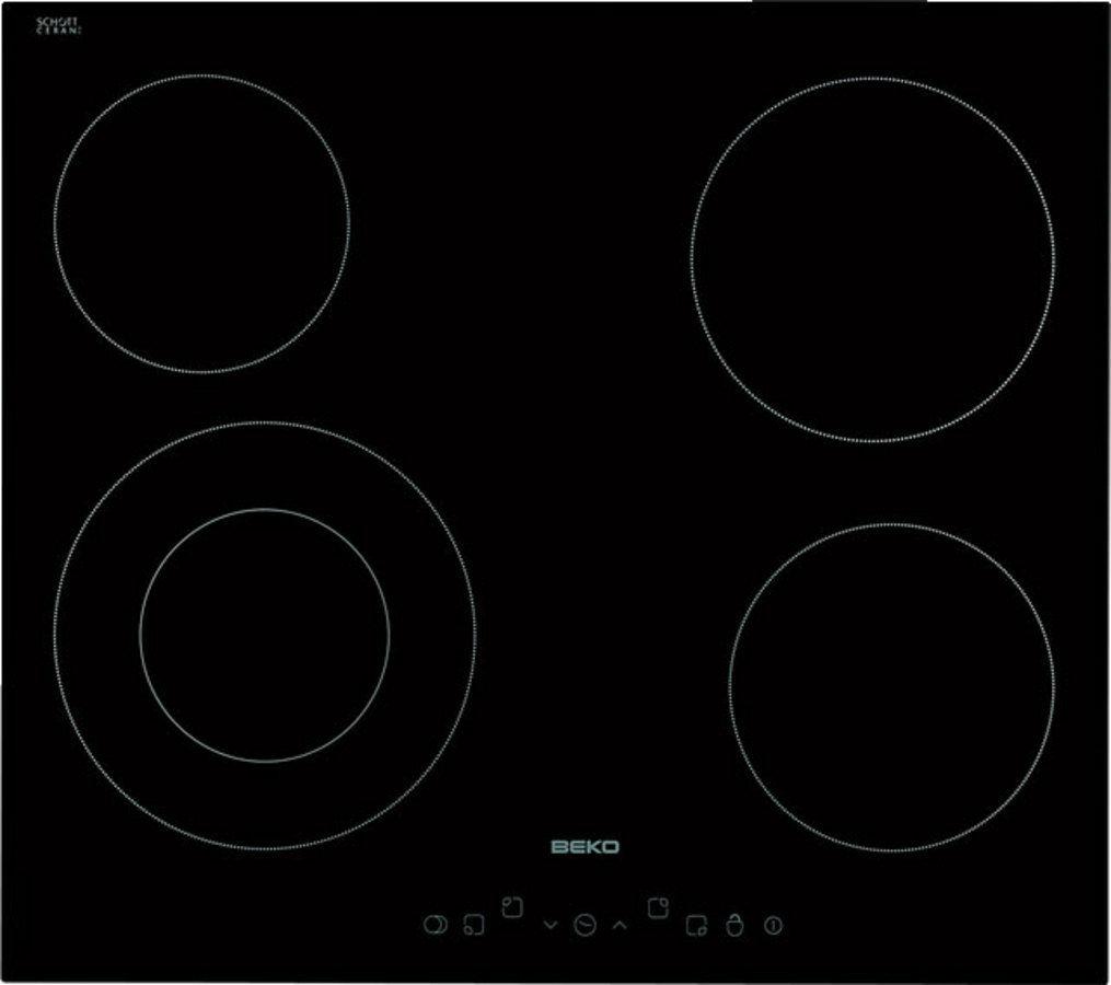 Electric cooktop / vitroceramic - HIC64402T - Beko