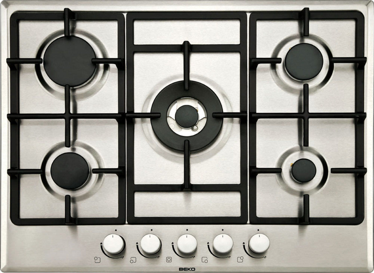 Gas cooktop / with grill - HIMW75225 - Beko