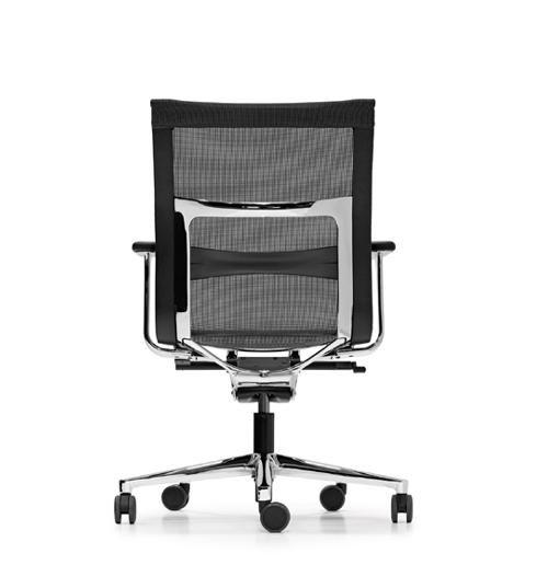 Contemporary Office Chair contemporary office chair / mesh / plastic / adjustable - una plus