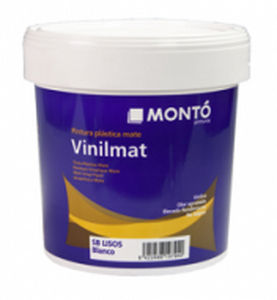 Decorative Paint / For Walls / Interior / Vinyl   VINILMAT ANTIMANCHAS