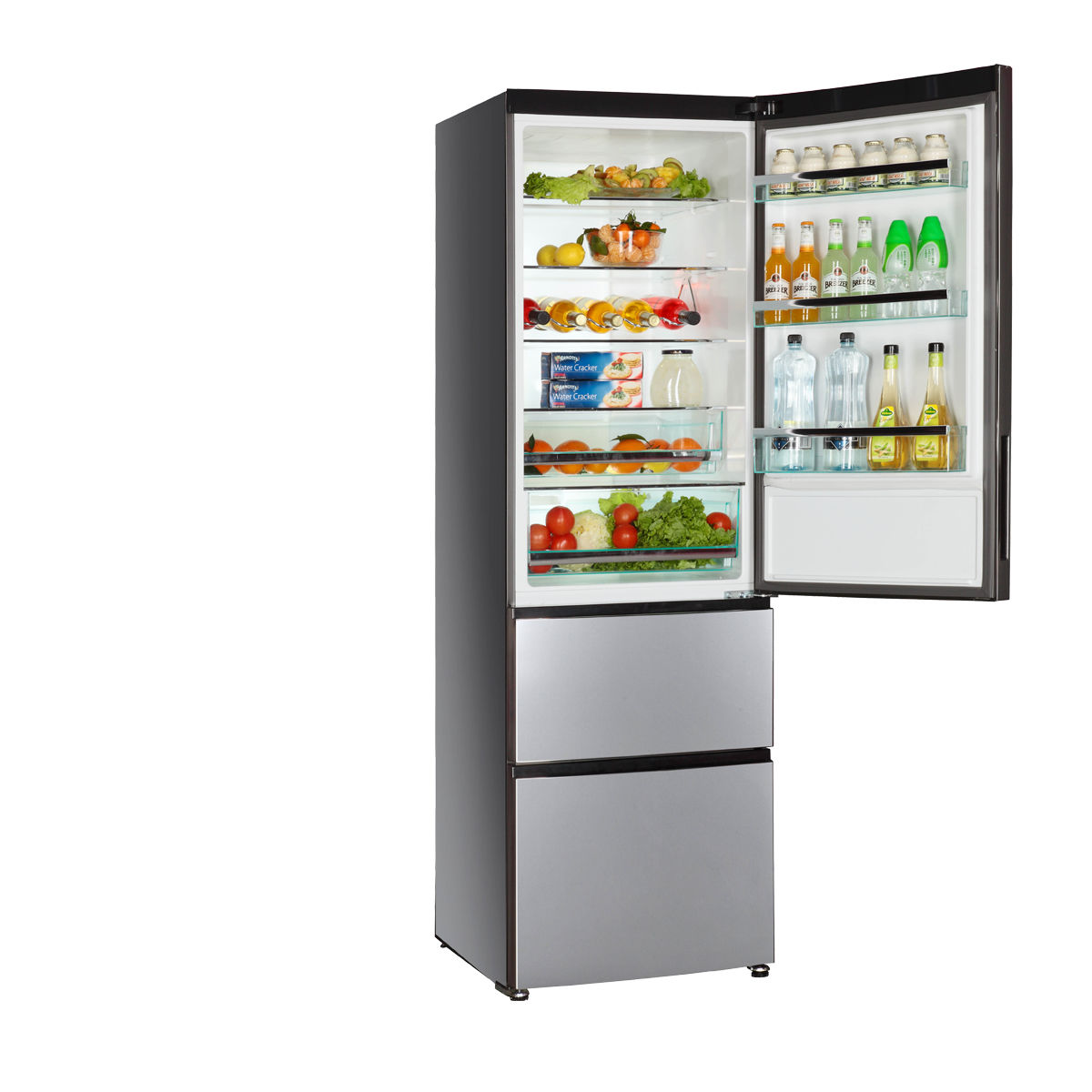 haier undercounter dual drawer refrigerator. residential refrigerator freezer with drawer stainless steel energy efficient a2fe735cxj haier undercounter dual