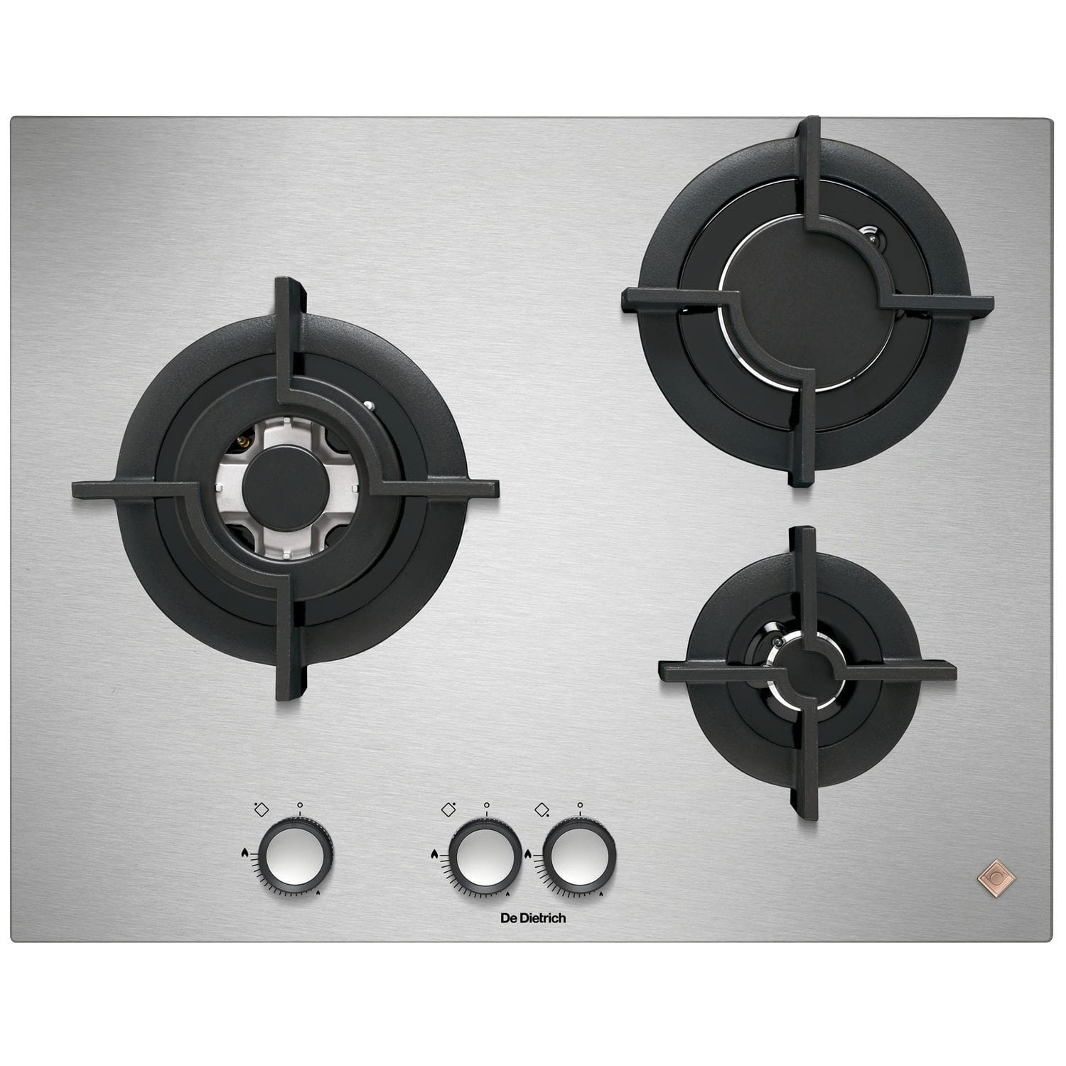 7dfc2ed67b2995 Gas cooktop   stainless steel - DPE7549XF - DE DIETRICH ELECTROMENAGER