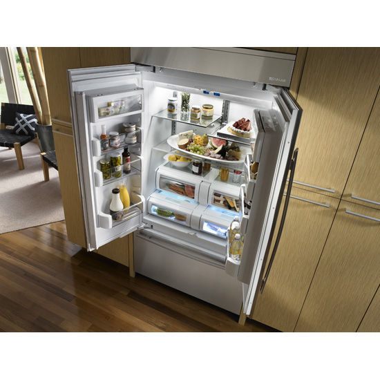 American Refrigerator Gray Built In Jf42nxfxdw Jenn Air Videos