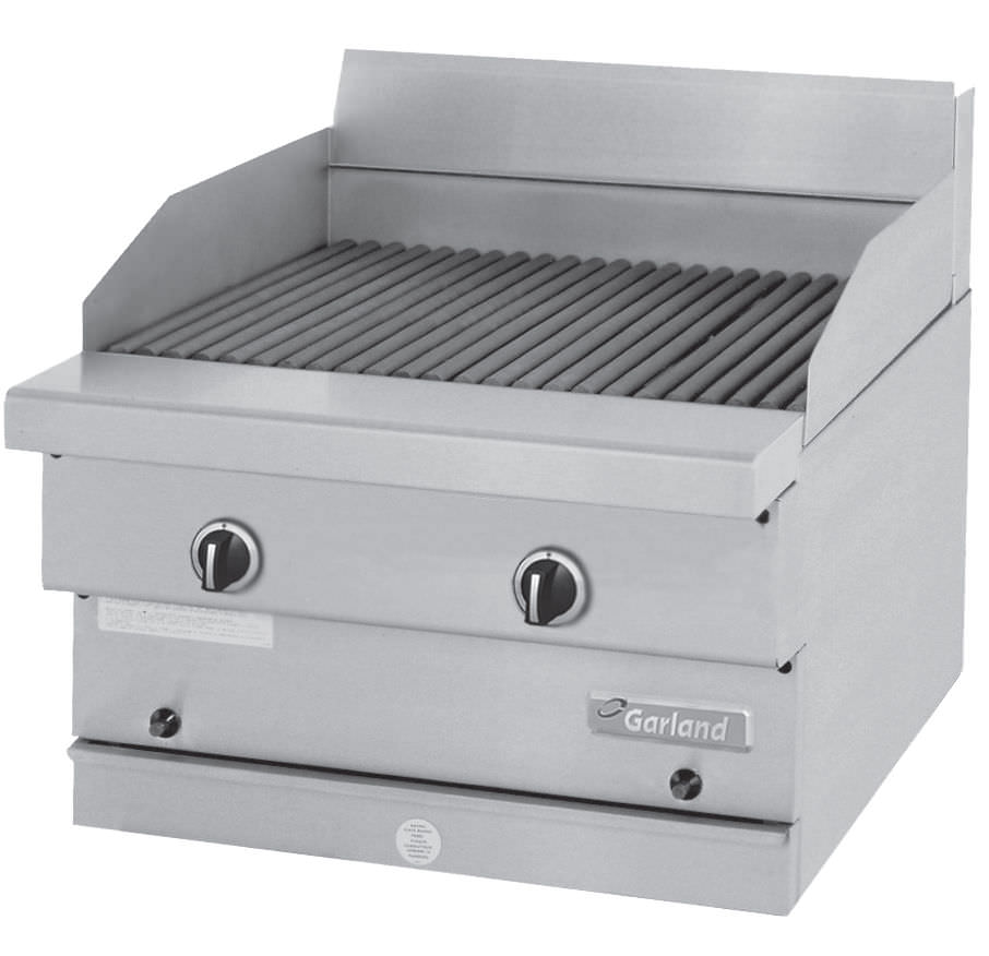 Gas grill / built-in / commercial - GF SERIES - Garland
