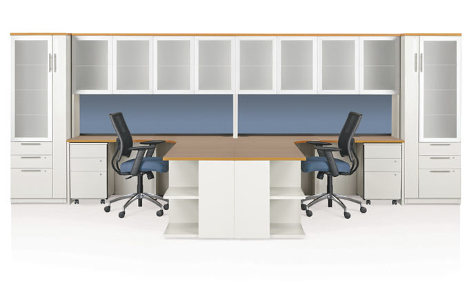modern office workstations. Workstation Desk / Laminate Contemporary Commercial Modern Office Workstations
