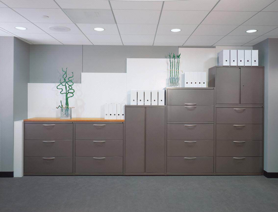 tall filing cabinet  metal  contemporary  fundamental® files  - tall filing cabinet  metal  contemporary  fundamental® files