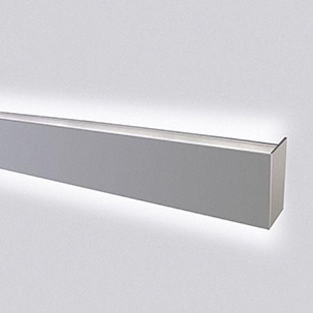 wall light extruded aluminum metal led lp grazer lighting works