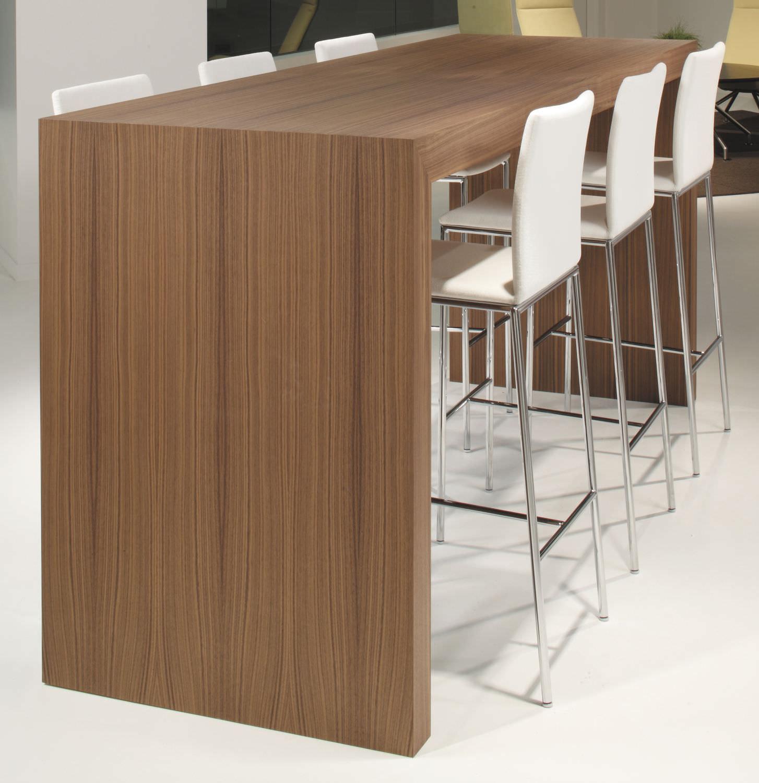 contemporary high bar table  wooden  rectangular  for public  -  contemporary high bar table  wooden  rectangular  for publicbuildings prat davis
