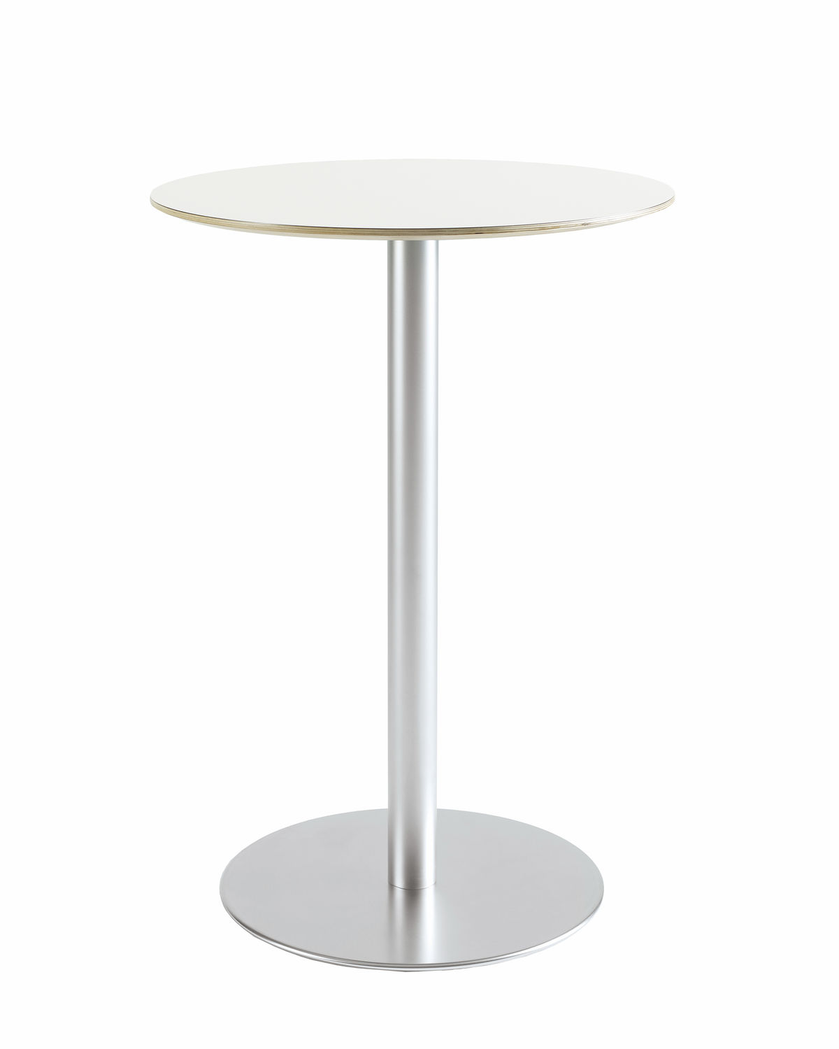 Contemporary High Bar Table Wooden Round Square