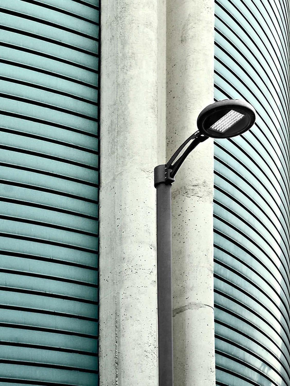Urban lamppost / contemporary / cast aluminum / LED - LEAN - MARTINI ...
