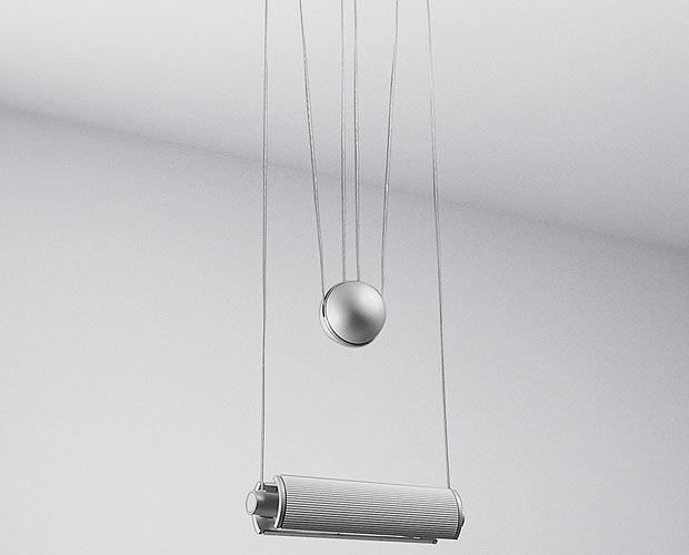 Pendant lamp / contemporary / aluminum - Halos (SADJ) by Quantic ...