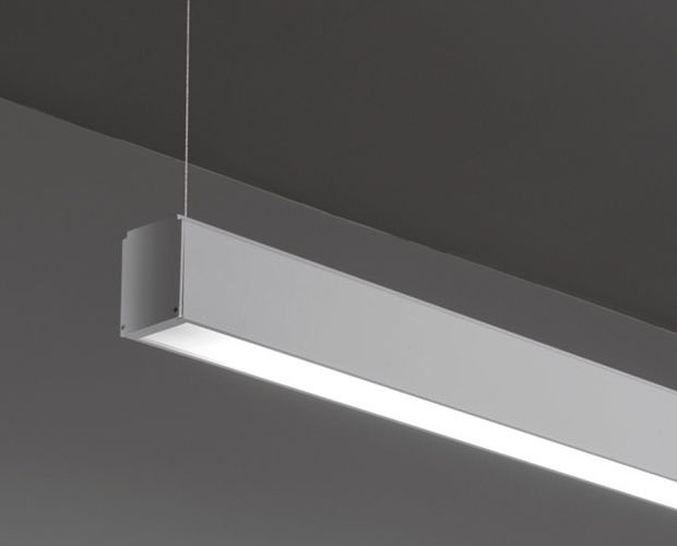 linear suspended lighting. Hanging Light Fixture / LED Linear Metal - Runner S Suspended Lighting H