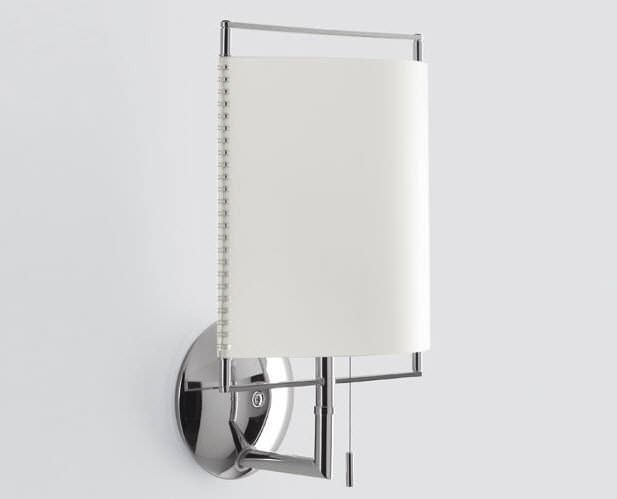 Contemporary wall light / polycarbonate - ELETTRA (W) by Paolo ...