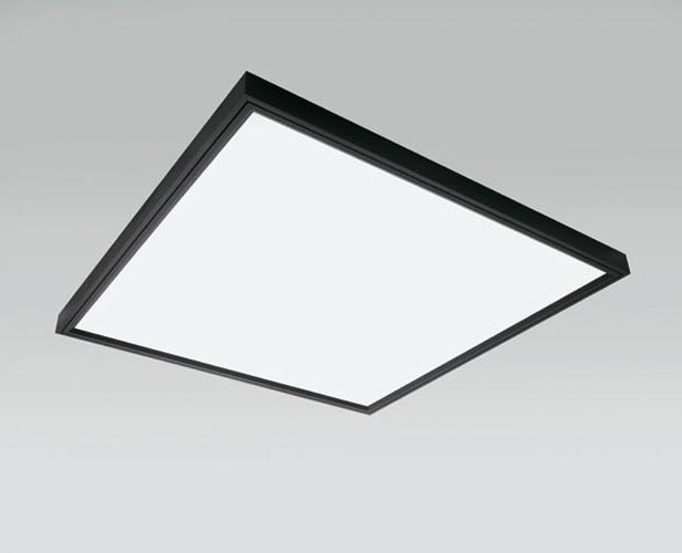Contemporary ceiling light square aluminum fluorescent contemporary ceiling light square aluminum fluorescent shadow light c w by ferrara palladino mozeypictures Gallery