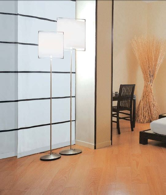Floor-standing lamp / contemporary / polycarbonate - ELETTRA (F) by ...
