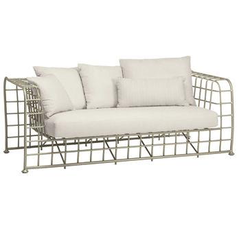 ... Contemporary Sofa / Garden / Metal / Fabric ARCHITECT BROWN JORDAN ...