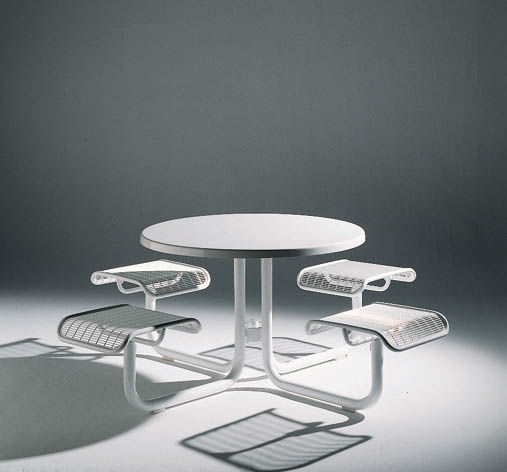 ... Contemporary Table And Chair Set / Metal / Round / Outdoor CAROUSEL By  Amo Yurk Landscapeforms ...
