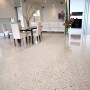 Concrete Flooring Residential Tertiary Polished