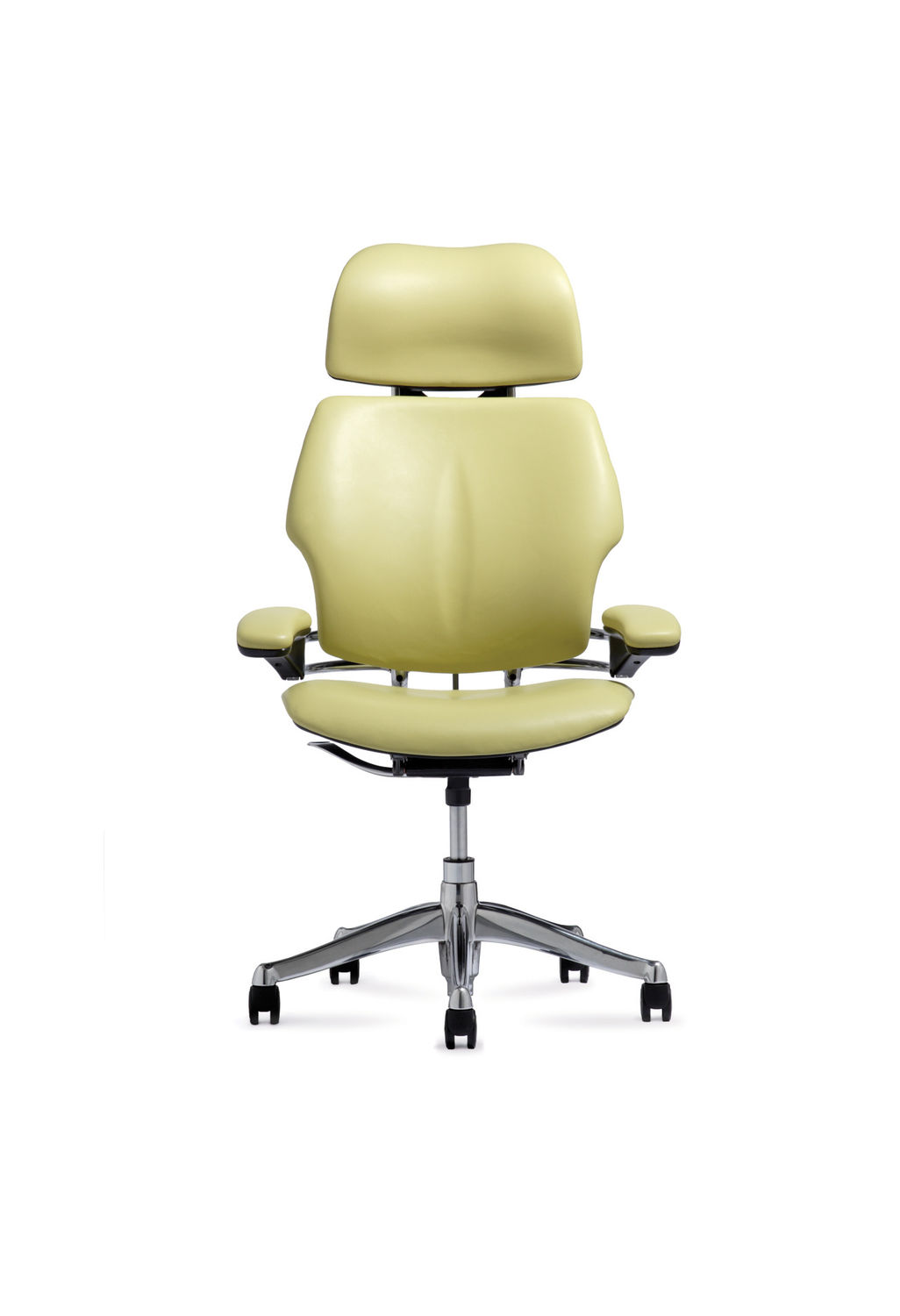 Humanscale freedom chair leather -  Contemporary Executive Chair Leather Fabric On Casters Freedom By Niels Diffrient Humanscale