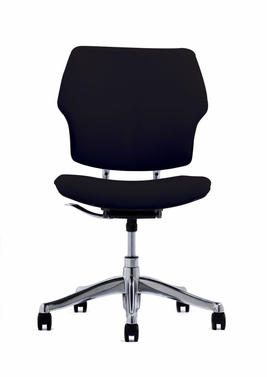Humanscale freedom chair leather -  Contemporary Office Armchair Fabric Leather On Casters Freedom By Niels Diffrient Humanscale