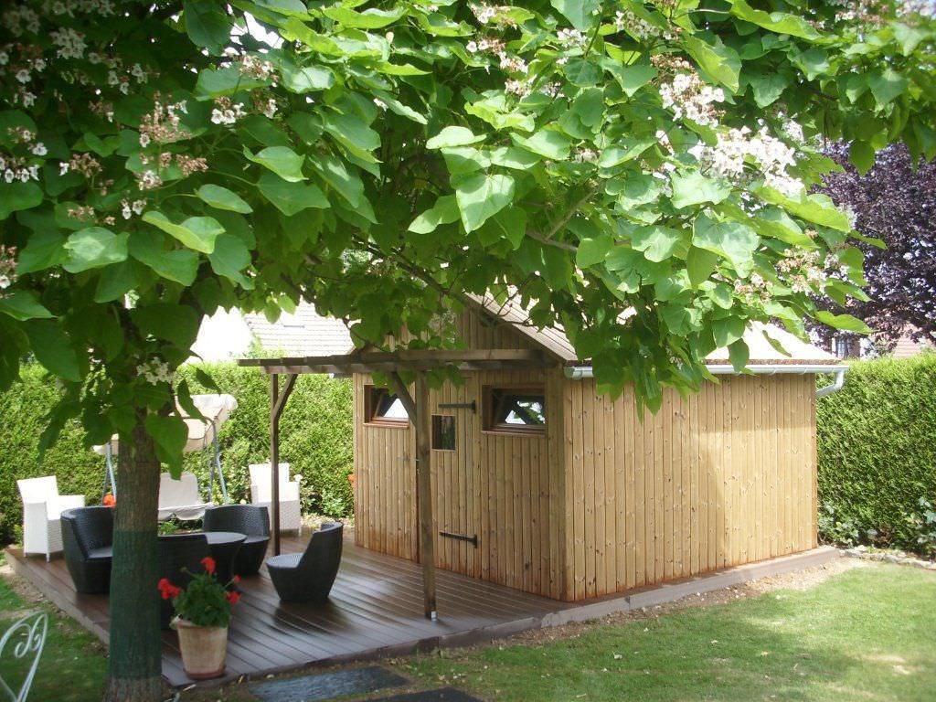 Wooden garden shed - ABRIS DE JARDIN - Groupe grad