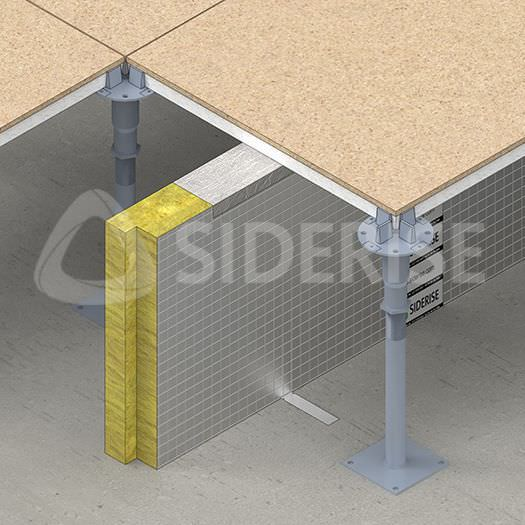Acoustic Insulation For Flooring Panel Fireproof Rf