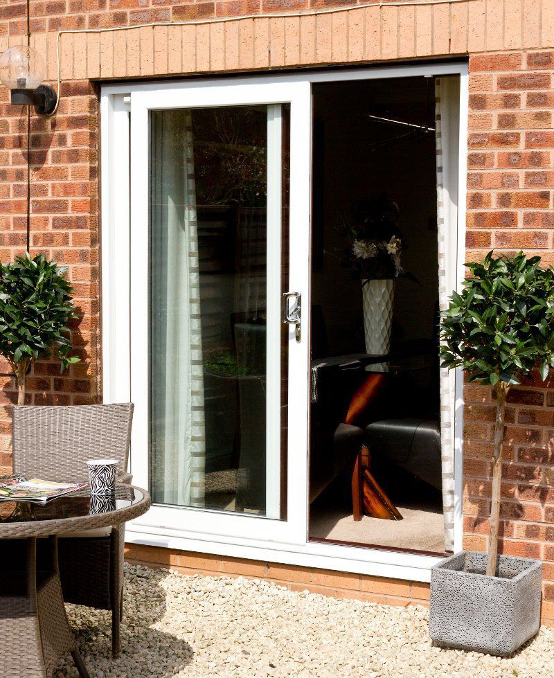 Indoor Door Sliding Stainless Steel With Fixed Leaf Evolve