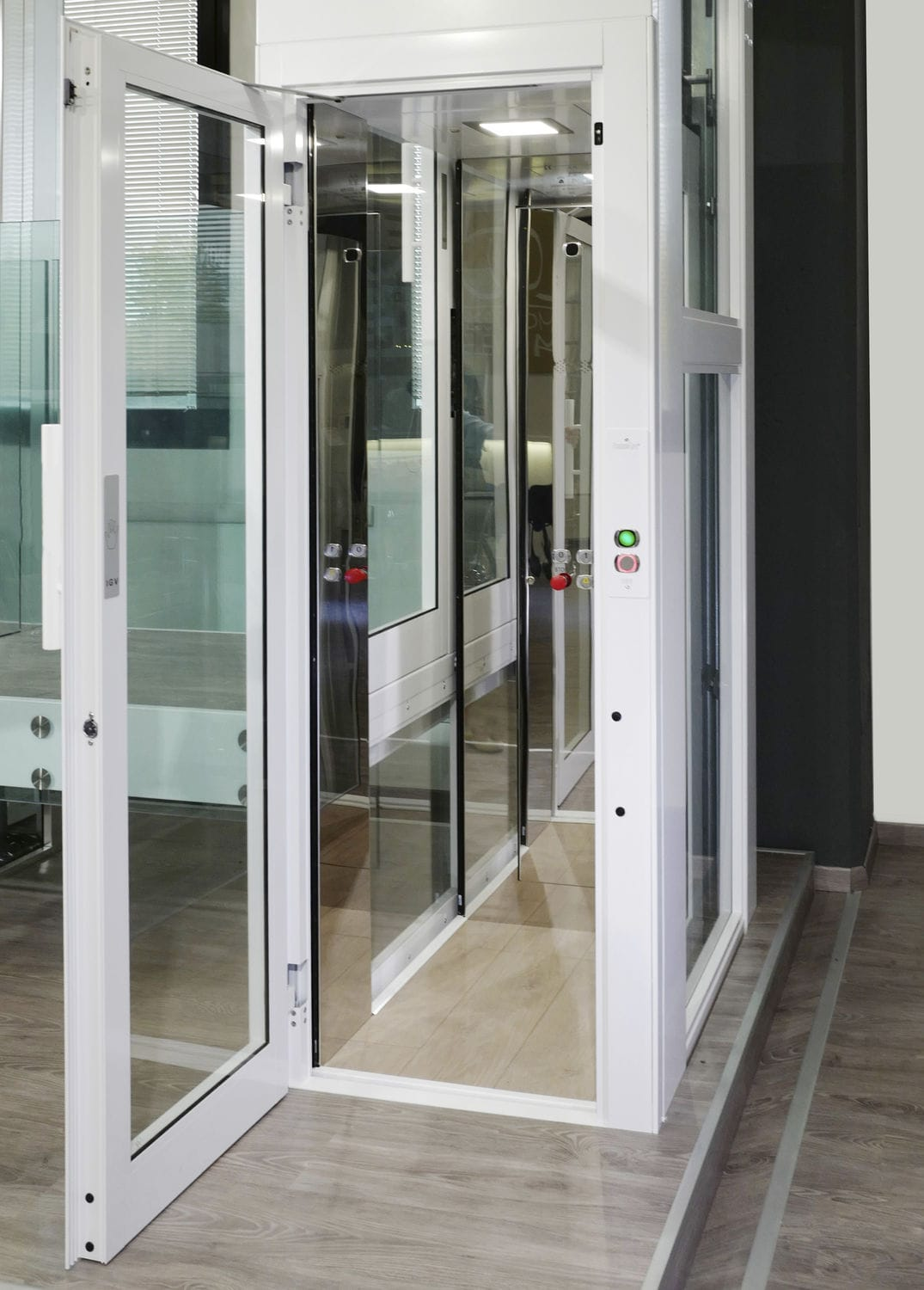 Home lift hydraulic DOMUSLIFT XS EXTRA SMALL IGV Group Videos
