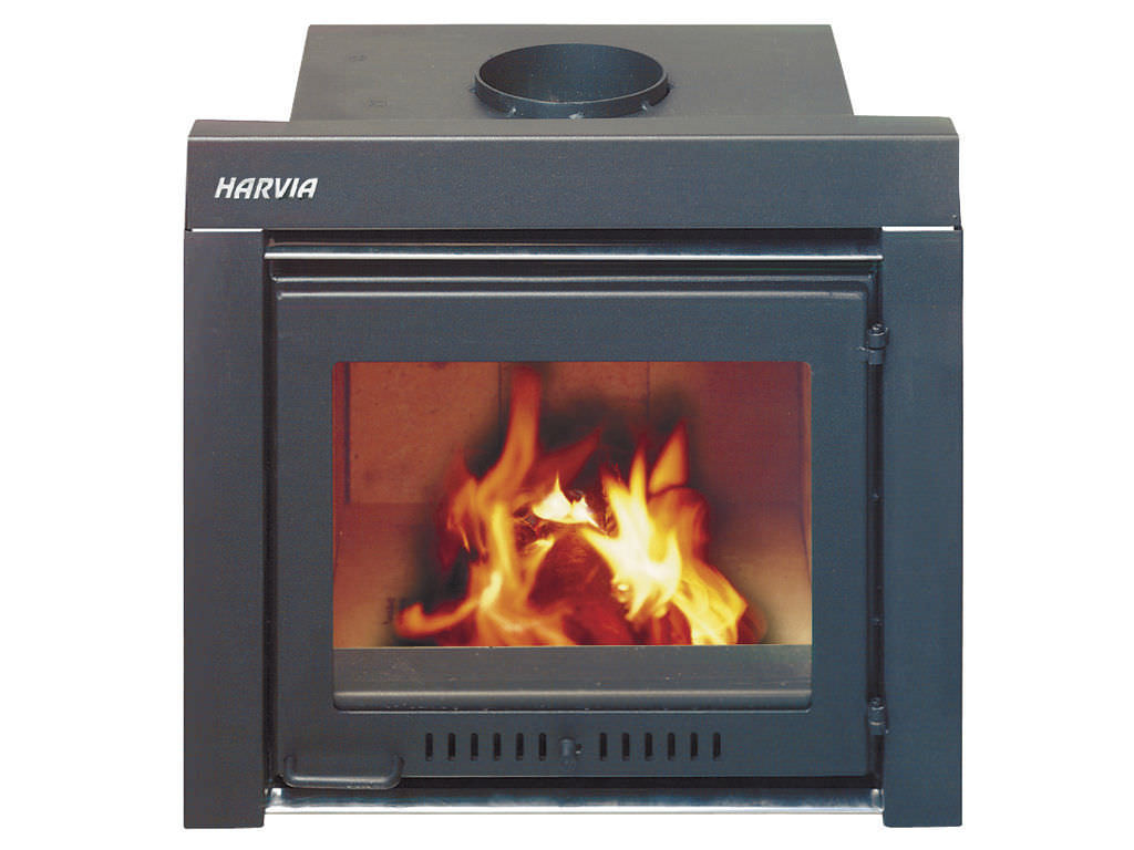 Wood Burning Fireplace Insert 400 Harvia